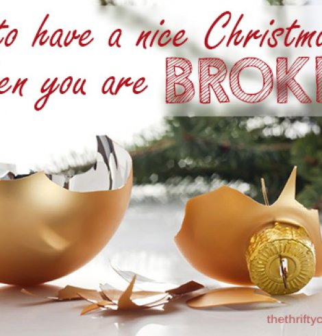 Are You Broke This Christmas?