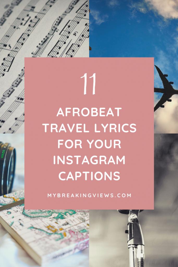 afrobeat travel lyrics