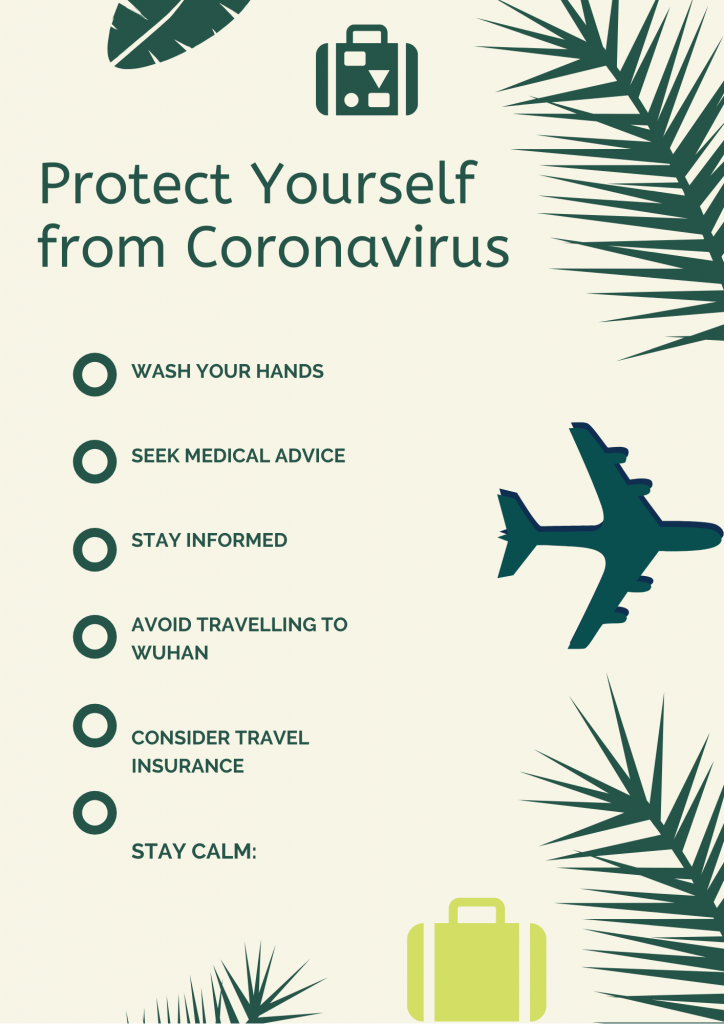 coronavirus tips on staying safe while travel
