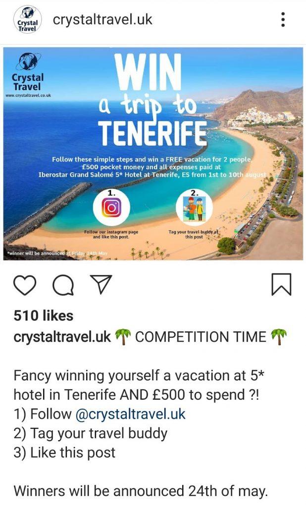 scam crystaltravel.uk
