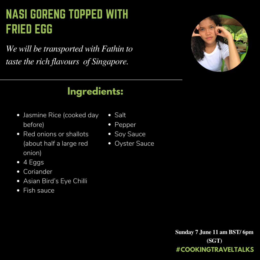 nasi goreng cooking travel talks