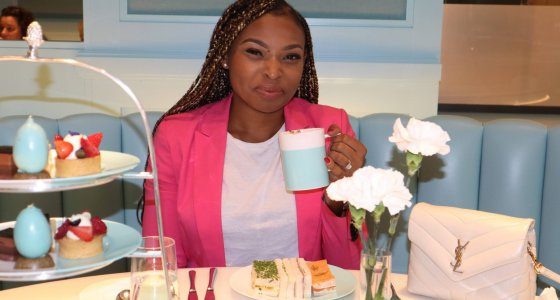 Restaurant Review: The Tiffany Blue Box Cafe at Harrods